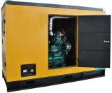 портативный молчком тепловозный генератор энергии 30kw