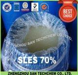 Xampu usado SLES N70 com bom preço Laureth sulfato de sódio 70%