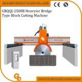 De hydraulische Multi Scherpe Machine van de Plak van de Steen van het Graniet van Bladen (type Heavyer)