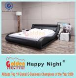 Insieme di camera da letto di legno del nuovo prodotto, re di lusso Bed G1015 di legno solido