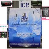 Im Freien Eisspeicher-Sortierfach u. Eis-Verkaufsberater