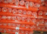 Langlebiges erstklassiges Straßen-Sperren-Netz-orange Plastiksicherheitszaun