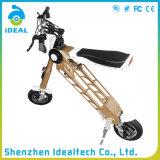Alliage d'aluminium 25km/H pliant le scooter électrique de mobilité de Hoverboard