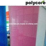 Panneau Anti-UV coloré de nid d'abeilles de polycarbonate