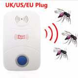 UK/Us/EU Stecker-Innenschädlingsbekämpfung-UltraschallplageRepeller für Mäusemoskito-Hinterwelle-Armkreuz