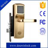 Hotel de puxador de porta fechadura com cartão-chave