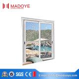 Puerta deslizante de aluminio modificada para requisitos particulares alta calidad del color con diseño de la parrilla
