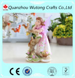 La mano perfezionamento Nizza i Figurines del Fairy del fiore della decorazione della casa della resina