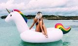 무지개 말 수영 반지 팽창식 물 장난감, 물 Inflatables