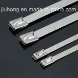 Los chinos fabrican las ataduras de cables del metal del acero inoxidable con la UL