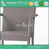 Hot Sale Wicker Dining Chair Mesa de jantar Rattan Modern Dining Set Outdoor Furniture Pátio Dining Set Garden Wicker Chair