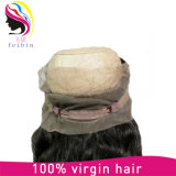 * 4 * 2 El cierre de encaje 22.5 Remy brasileño del cabello humano 360 completa