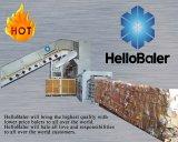 Presse à balles automatique horizontal de la machine pour les déchets de papier, carton, l'occ