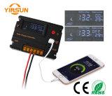 12V/24V 20A LCD 태양 전지판 건전지 규칙 책임 관제사