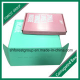 カラーカートンボックスを包む試供品の波形のギフト