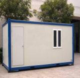 20 футов с плоским Pack Сэндвич панели сборные дома контейнера