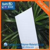 Imprimir plástico PVC blanco Hoja rígida para Etiqueta de precio