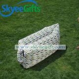 卸し売り習慣によって印刷されるLlamzacのたまり場の速く膨脹可能なソファーの空気ベッド