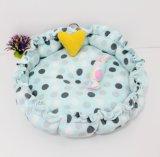 Hi-Q Hollypet Forme différente PV tissu confortable lit pour chien en peluche