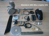 2 kit del motore del ciclo, motore 80cc del motore a gas per la bicicletta motorizzata