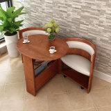 Table à café en bois de roulement