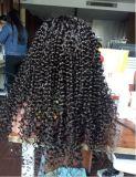 Pelucas llenas del cordón de Glueless de la Virgen brasileña con el pelo del bebé