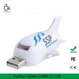 memória Flash Shaped do USB do plano do avião do USB 3D