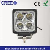 """4 """" indicatore luminoso del lavoro del CREE LED Folklift di 12-60V 3200lm 40W 4X10W"""