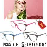 Het Frame van de Glazen van de Frames van de Acetaat van het Oogglas van China met Ce en FDA