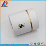 Cadre de empaquetage de cadeau cylindrique de carton de qualité