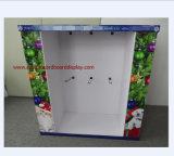 Media visualización de la paleta con los ganchos de leva del metal para los regalos de la Navidad para los productos del animal doméstico, con 3 caras para demostrar sus productos