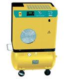 Compresor de aire de tornillo movible con depósito de aire (7,5 KW, de 8 bar)