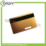 cartão chave em branco de quarto do hotel do plástico T5577 RFID da listra Olá!-co magnética