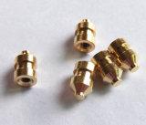 Pièces de rotation de commande numérique par ordinateur de précision de cuivre de qualité