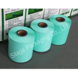 다채로운 LLDPE 필름 고품질 사일로에 저항한 꼴 포장 필름, 뉴질랜드를 위한 농장 밀짚 패킹 필름