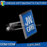 Gemelli d'ottone del metallo piacevole di alta qualità per il regalo del ricordo