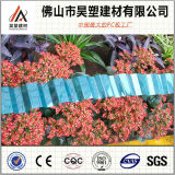 China-Fabrik-preiswertes Preis-Polycarbonat-gewölbtes Blatt für Dach