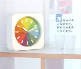 다채로운 형식 무지개 책상 자명종