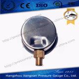Jauge de pression d'huile en acier inoxydable de 40 mm et 1,5 po remplie de glycérine