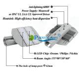 보장 5 년은 IP67 200W LED 가로등을 방수 처리한다