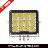 고성능 12V-60V 7inch 120W 크리 사람 LED 일 램프