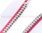 Zipper do metal de 3# 4# 5# 8# 10# com extrator extravagante