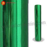 Hot Stamping de PET para el papel de aluminio/Plástico tejido Cuero//.
