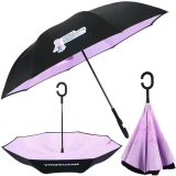 Anunciando tipos diferentes do presente de guarda-chuva da chuva do carro da oferta do casamento