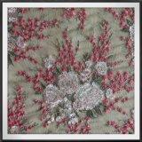 Empfindliche Ineinander greifen-Stickerei-Tulle-Stickerei-Blumenstickerei