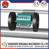maquinaria del rodillo del paño del encaje de fantasia de la potencia 0.75kw para el cuero del PVC