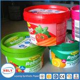 Введите прессформу обозначая синтетическую бумагу для пластмасовых контейнеров масла