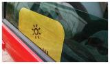 Do logotipo feito sob encomenda Foldable da boa qualidade do poliéster máscara automática decorativa de Sun do carro