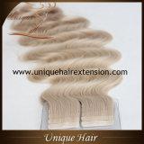 Estensioni bionde dei capelli del nastro della cenere all'ingrosso