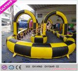 Trilha de ar inflável interessante ao ar livre para carro ou bola de caminhada
